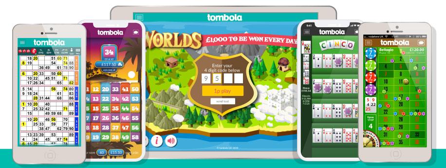 Tombola Bingo Website