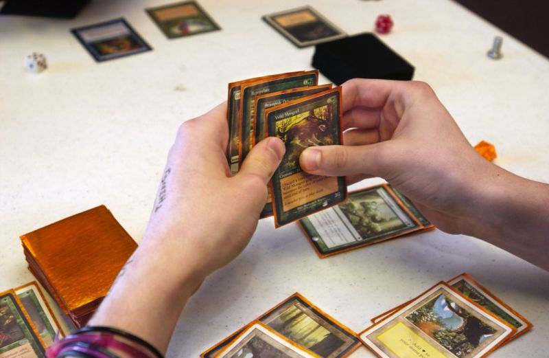 Magic Gathering Card Game