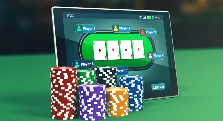 playing online poker games